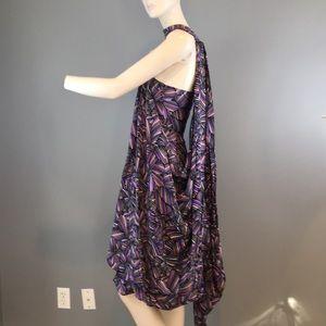 NWT Cinq a Sept Halter Print Midi Dress Sz 4